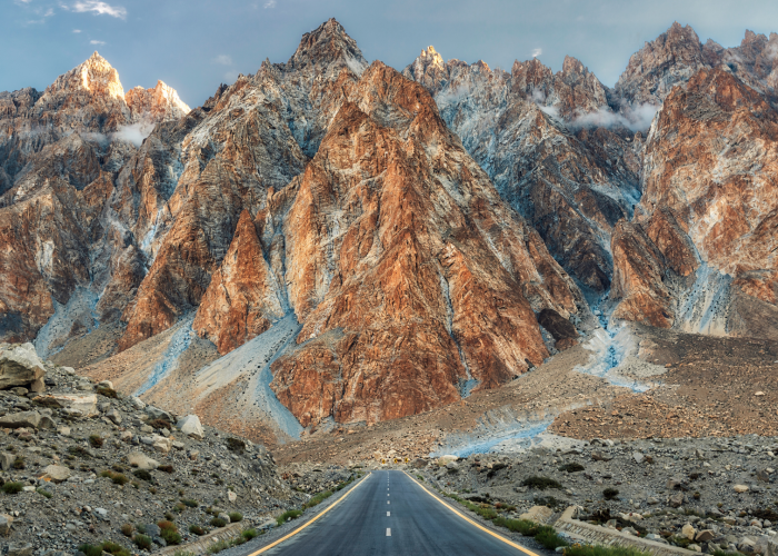 passu cones in winter with snow on the top - rozefstourism.com